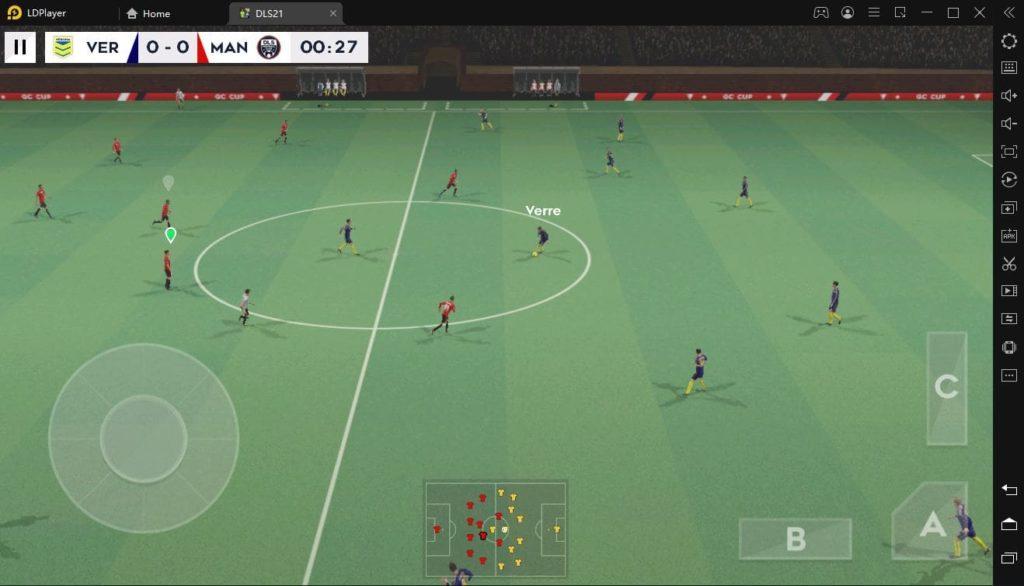 Dream League Soccer 2021 на ПК