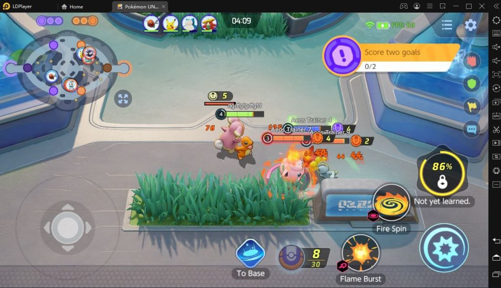 Pokemon UNITE на компьютер